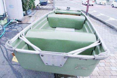 画像2: 中古ジョンボート レジャークラフト ジョンボート