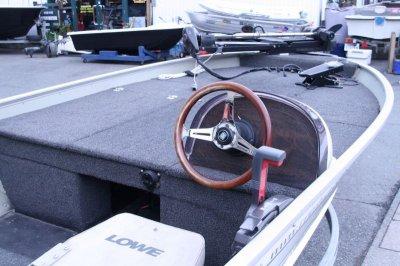 画像3: 中古ボート LOWE(ロウ) オリジナルセッティングV420