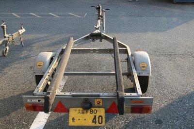 画像1: 中古トレーラー ノーブランド 軽トレーラー