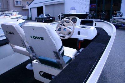 画像3: 中古ボート LOWE(ロウ) FM150S